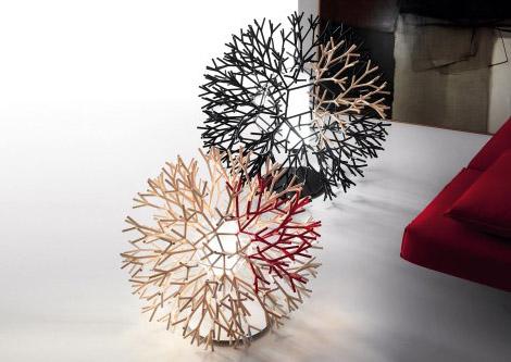 Coral – креативна лампа от Lagranja Design