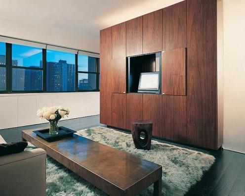Интериор на малък апартамент от MOA