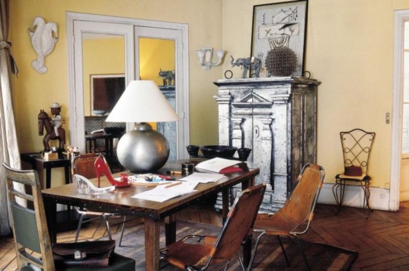Апартамента на Christian Louboutin в Париж