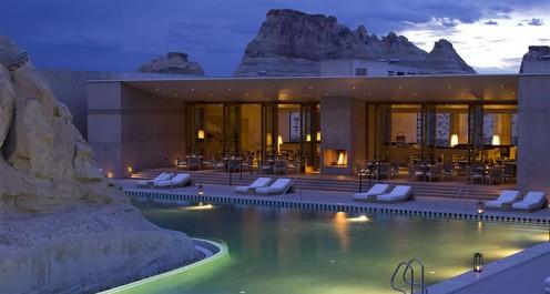 Амангири – Луксозен пустинен хотел с награда за дизайн